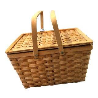 Vintage Picnic Basket W/ Lining