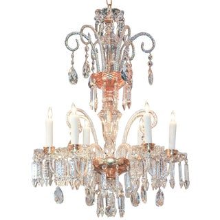 Fine Continental Glass Chandelier For Sale