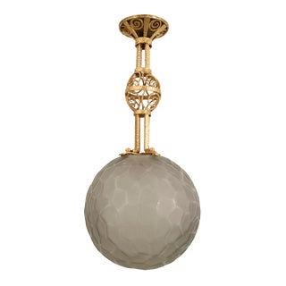 French Art Deco Lantern For Sale
