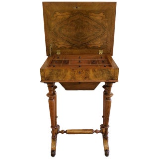 Mid-19th Century Sewing Stand End Table For Sale