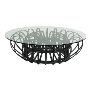 Aiden Coffee Table, Black For Sale