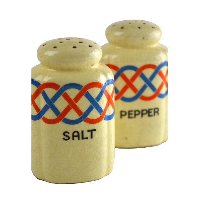 Ceramic Salt & Pepper Shakers - Pair For Sale - Image 4 of 4