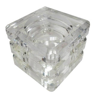Lucite Ice Bucket by Alessandro Albrizzi