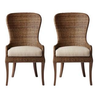 Selamat Designs Renata Porcini Side Chairs - a Pair
