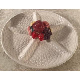 Vintage Figural Divided Fruit Plate Preview