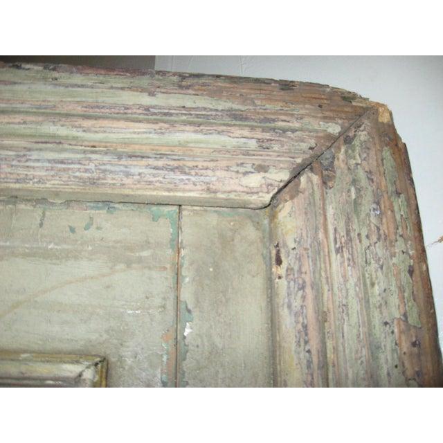 Wood 18th Century Louis XVI Painted Panel Door For Sale - Image 7 of 12
