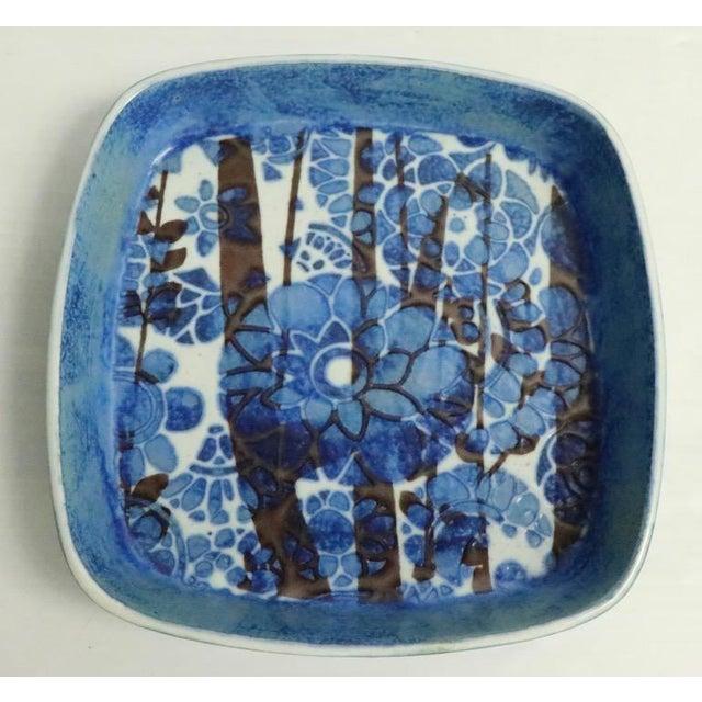 Modernist Nils Thorsson for Royal Copenhagen Fajance Bowl For Sale In New York - Image 6 of 6