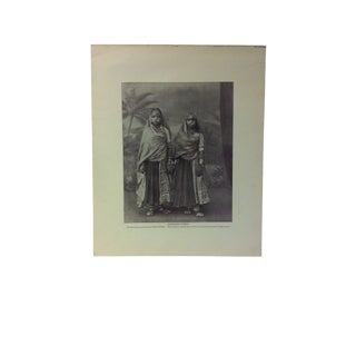 "Antique Glimpses of India Print, ""Marwaree Women"", Circa 1890 For Sale"