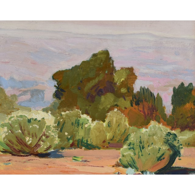 George Barker(1882-1965), Plein Air California Landscape Oil Painting For Sale - Image 4 of 10