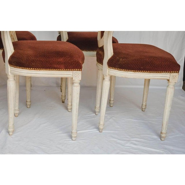Set of 6 French Chairs For Sale In Houston - Image 6 of 13