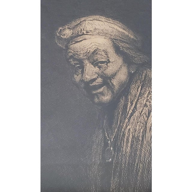 Rembrandt Self Portrait Engraving For Sale In San Francisco - Image 6 of 8