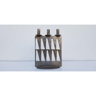 1977 J. Schiogler Perforated Steel Candle Holder Preview