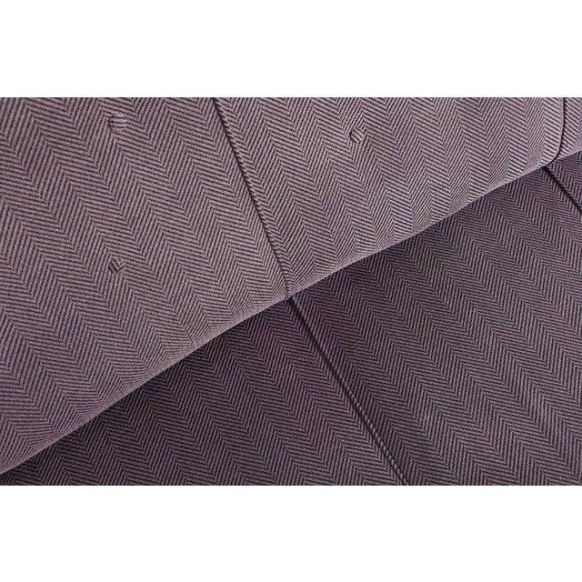 Mid-Century Modern Scandinavian Organic Wingback Sofa For Sale - Image 3 of 10