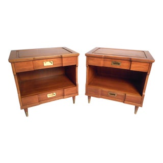 Midcentury Nightstands by John Widdicomb - a Pair For Sale