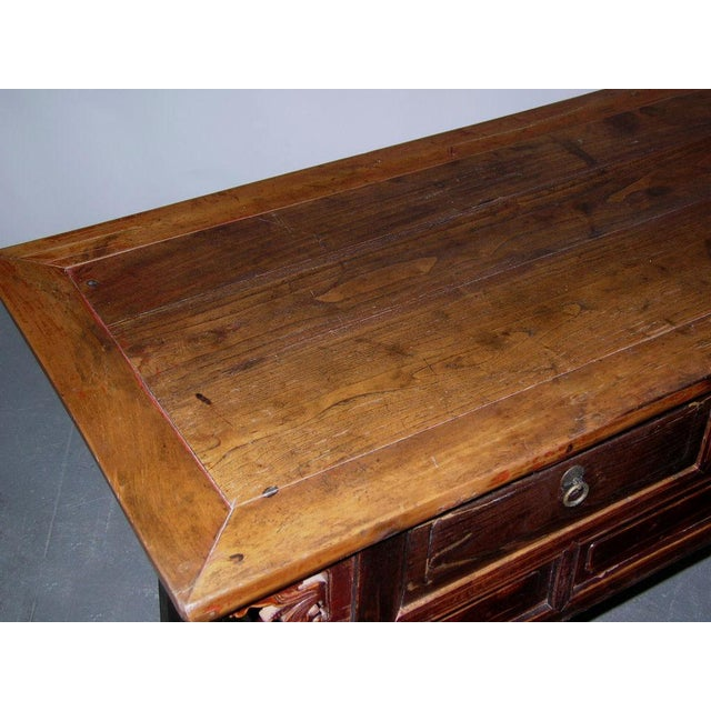 Antique Qing Dynasty Chinese Desk For Sale - Image 5 of 5