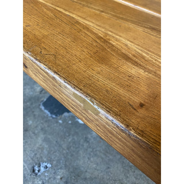 1950s French Coffee Table From Lyon For Sale - Image 10 of 13