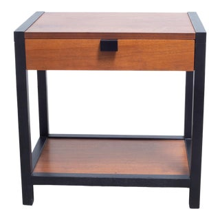 Mid-Century Milo Baughman for Directional Nightstand C.1960 For Sale