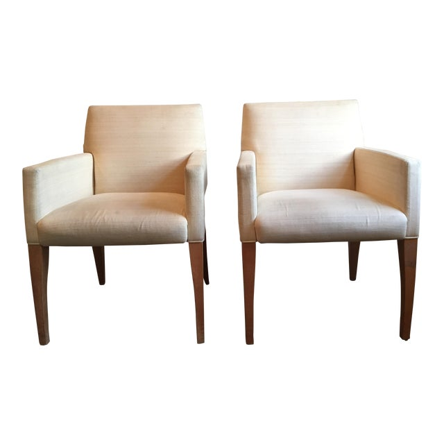 Mid-Century Modern Van Cleef & Arpels Sycamore Bergeres - a Pair For Sale
