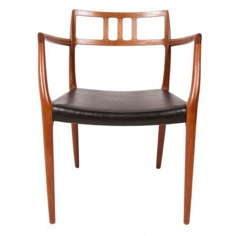Niels Moller Danish Teak Dining Chairs - Set of 6 - Image 4 of 7