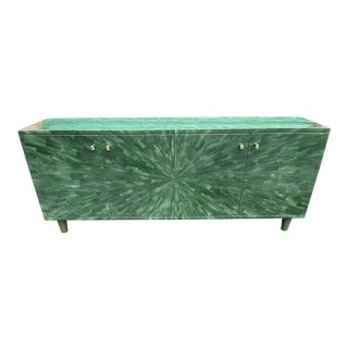 Emerald Green Torion Buffet For Sale