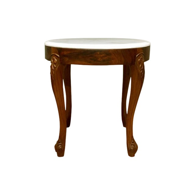 Alhena Rosewood Accent Table For Sale