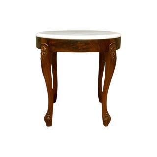 Boston Mills Alhena Rosewood Accent Table For Sale
