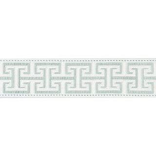 Sample, Scalamandre Luxor Velvet Tape, Cloud Fabric For Sale