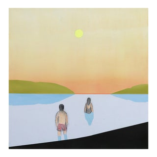 """""""Lake Swimmers"""" Original Artwork by Mike Gough For Sale"""