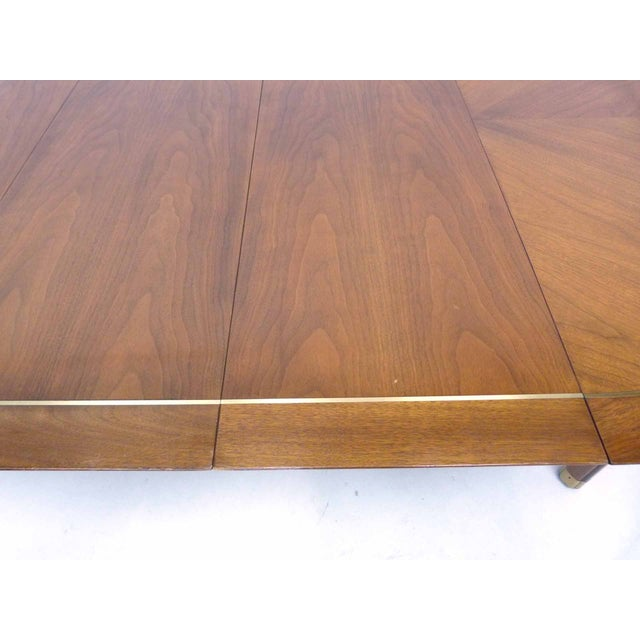 Baker Far East Round-to-Oval Dining Table - Image 10 of 10