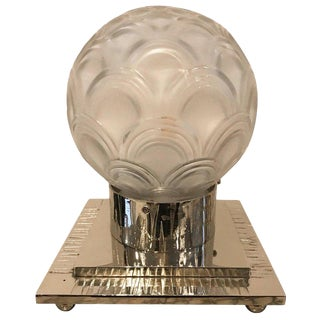 French Art Deco Table Lamp by Pierre D'avesn For Sale