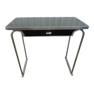 Gilbert Rohde Art Deco Console With Drawer For Sale