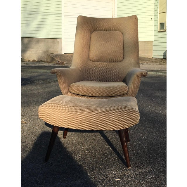Selig Lawrence Peabody for Selig Holiday Group High Back Chair For Sale - Image 4 of 5