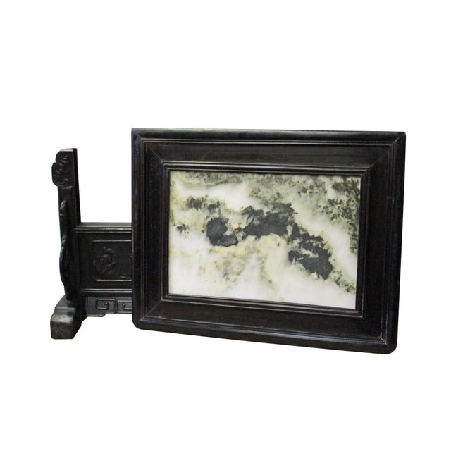 Chinese Dream Stone Fengshui Rectangular Table Top Display Art For Sale In San Francisco - Image 6 of 10