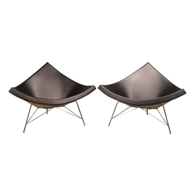 "Vintage George Nelson for Vitra ""Coconut"" Chairs - a Pair For Sale"
