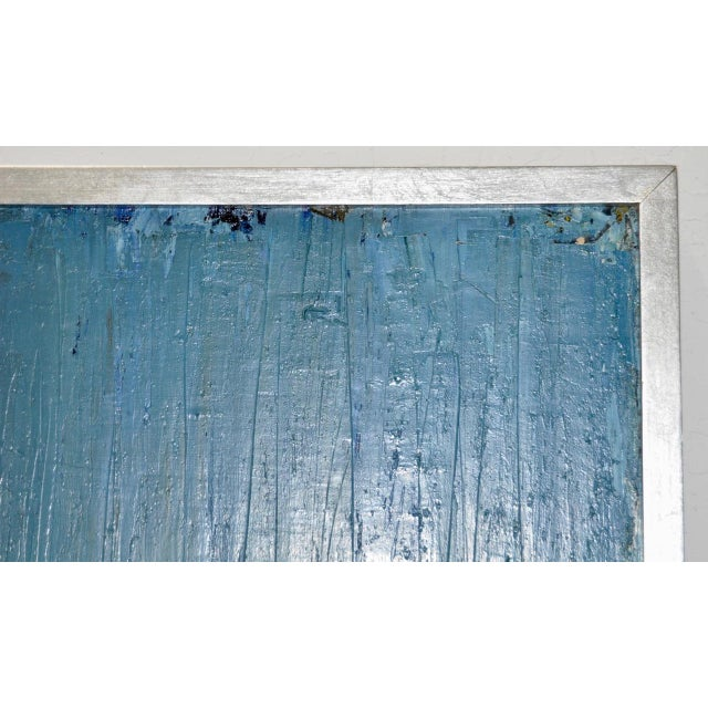 Mid Century Modern Abstract Masterpiece by R. Neeley c.1960 For Sale - Image 9 of 10