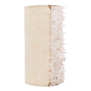 Rachel Wall Sconce - Chunky Quartz For Sale