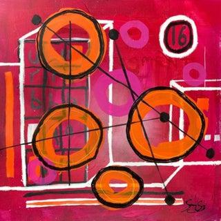 "Soren Grau ""Urban Fragment No. 16"" Original Painting For Sale"