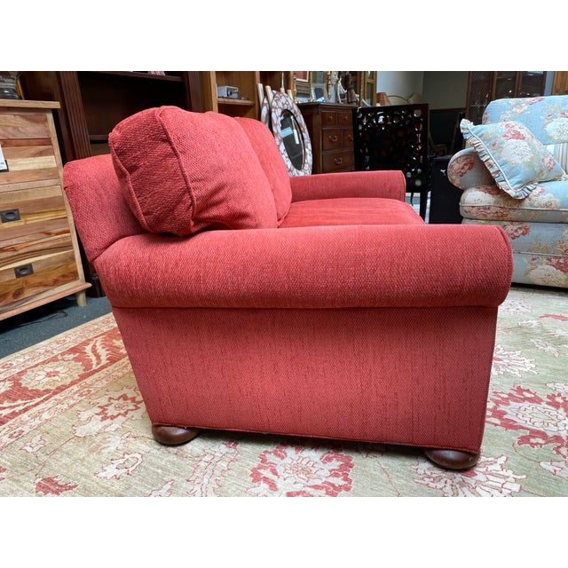 Lee Industries Apartment Sofa For Sale In San Francisco - Image 6 of 10