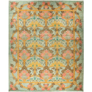 "Rodez, Arts & Crafts Area Rug - 11' 10"" X 14' 4"" For Sale"