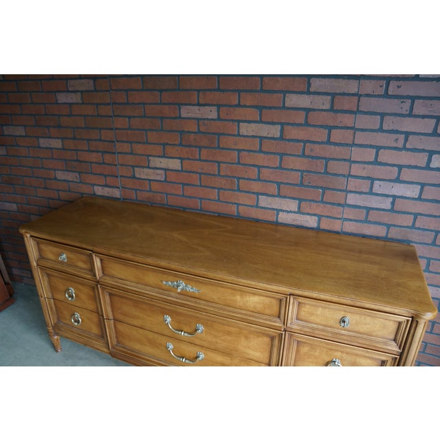 20th Century French Provincial Henredon Dresser For Sale - Image 11 of 12