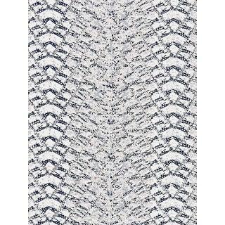 Sample, Scalamandre Komodo, Bluestone Fabric For Sale