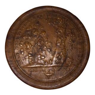 "19th Century Pressed Wood Snuff Box, ""l'amour..l'amitie"""
