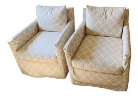 Image of Almond Club Chairs