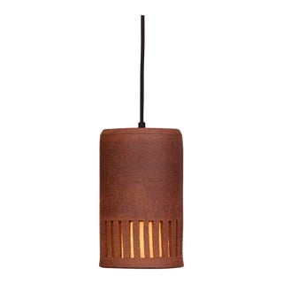 Clay Outdoor Hanging Light Hl 20 by Brent J. Bennett, Us, 2019 For Sale