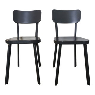 HD Buttercup Metal Chairs - A Pair For Sale