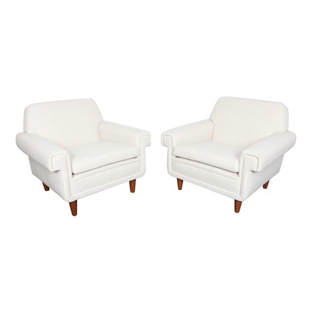 Ire Mobel Swedish Mid-Century Lounge Chairs - A Pair - Image 1 of 6