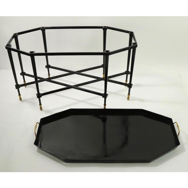 1950s Italian Tray Top Cocktail Table For Sale - Image 11 of 12