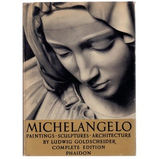 """1953 """"Michelangelo"""" Coffee Table Book For Sale"""