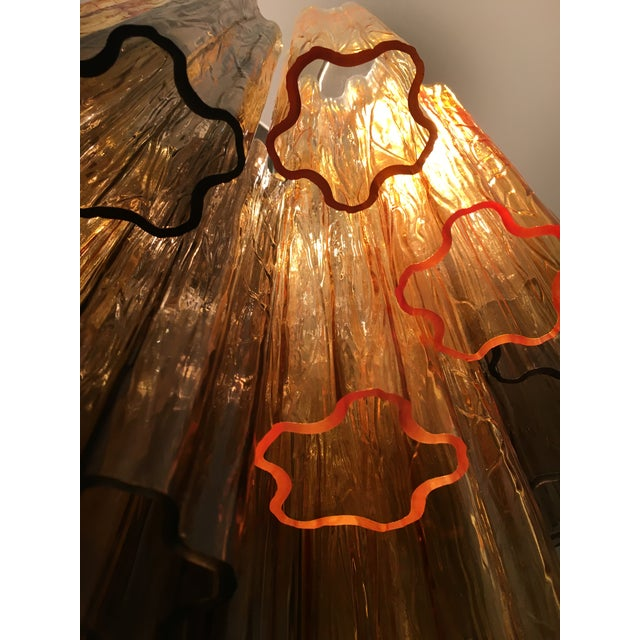 """Contemporary Murano Glass """"Tronchi"""" Chandelier For Sale - Image 10 of 12"""