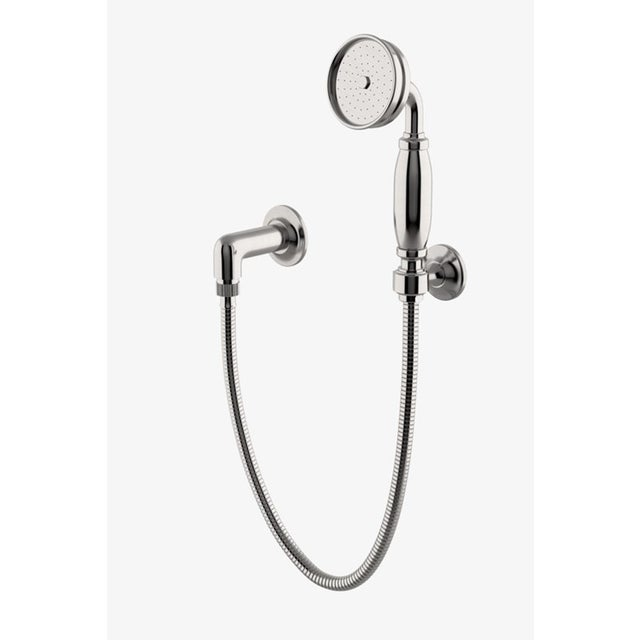 Waterworks Easton Classic Handshower On Hook with Metal Handle in Burnished Nickel. This item is new. It hasn't been used...